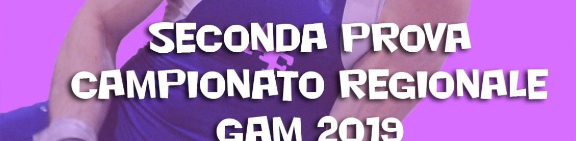 Prima Prova Campionato Regionale GAM 2019 Squadre Allievi Gold