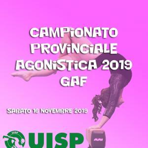 Campionato Provinciale Agonistica 2019 - GAF