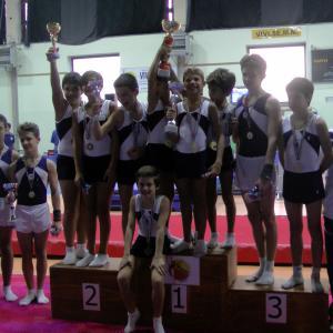 Seconda Prova Campionato Regionale GAM 2019 Squadre Allievi Gold