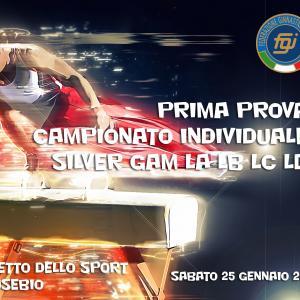 Prima Prova Campionato Individuale Silver GAM 2020 LA LB LC LD