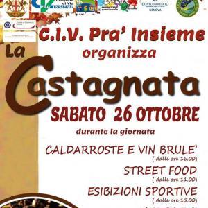 Castagnata 2019 a Pra'