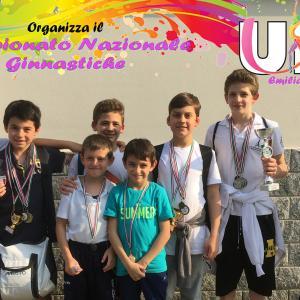 Campionato Nazionale Ginnastica Artistica Maschile 2018 - UISP
