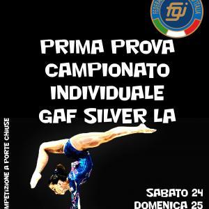 Prima Prova Campionato Individuale Silver GAF 2020 LA LB