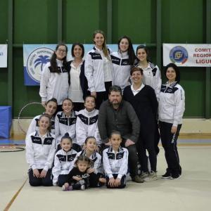 Seconda Prova Campionato Individuale GR Allieve 1-2-3-4 JUNIOR 1